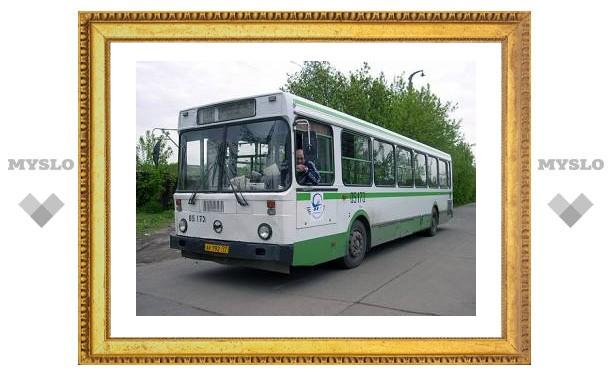 Тульские автобусы изменят маршрут