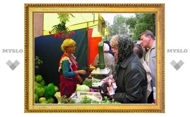 Под Тулой возрождают продовольственные ярмарки