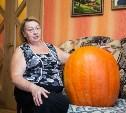 Тульские пенсионеры вырастили тыкву-«рекордсмена»