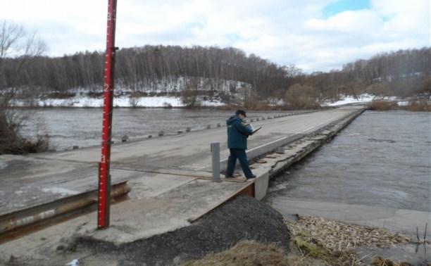 В Тульской области возобновили движение по затопленным мостам