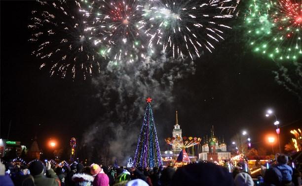 Новый год-2016 можно встретить на площади Ленина