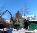 В Центральном округе Тулы сносят ветхие и аварийные строения