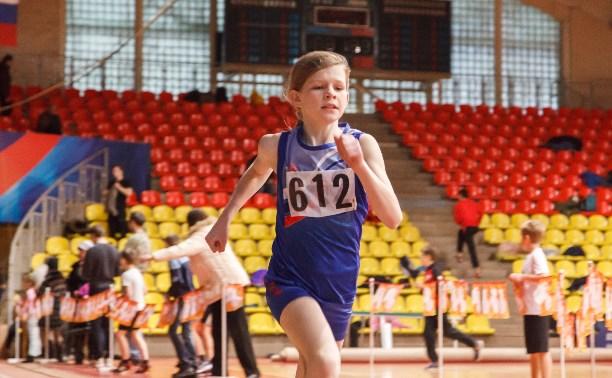 Юные тульские легкоатлеты выступили на «Шиповке юных»