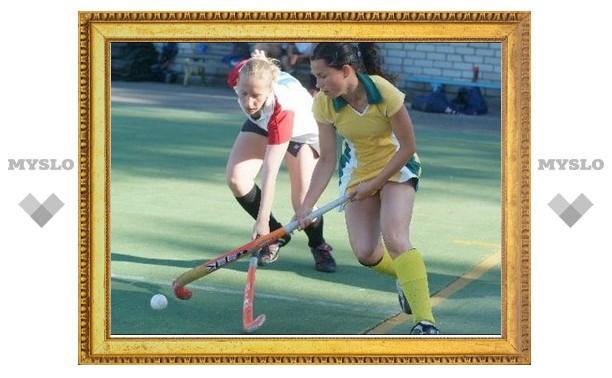 В Алексине Тульской области начался чемпионат по хоккею на траве среди женщин