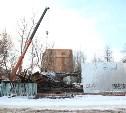 Городские власти снесли аварийный дом на пересечении ул. Гоголевской и Свободы