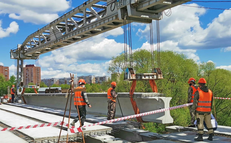 Как строят новый мост через Упу на Восточном обводе: репортаж