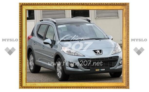 Первые фотографии обновленного Peugeot 207