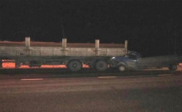 На трассе «Дон» столкнулись два грузовых автомобиля
