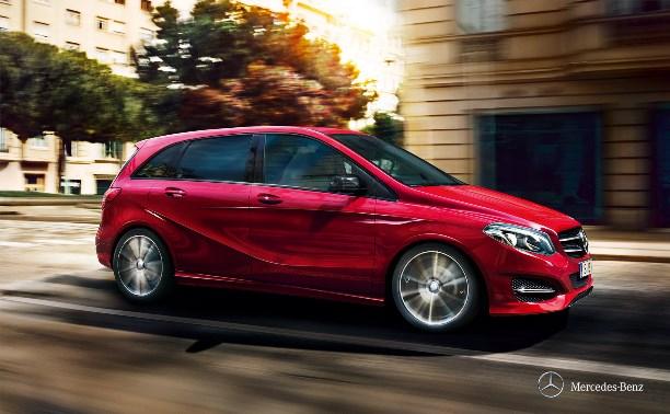 Mercedes-Benz приглашает на презентацию обновленного В-класса