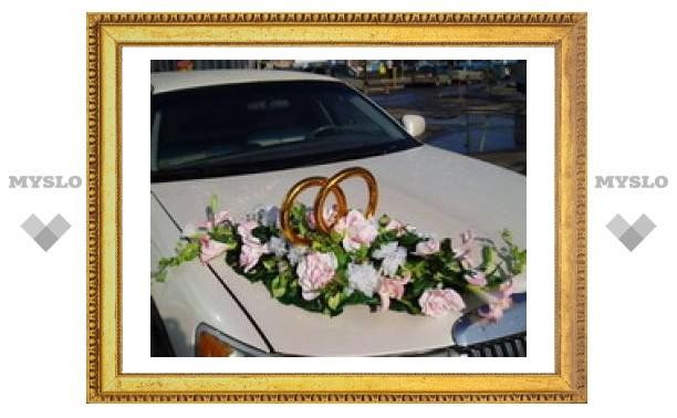 В Новомосковске свадебный кортеж насмерть сбил пешехода