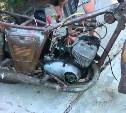 Кража в Тульской области: А вот кому мотоцикл на металлолом!