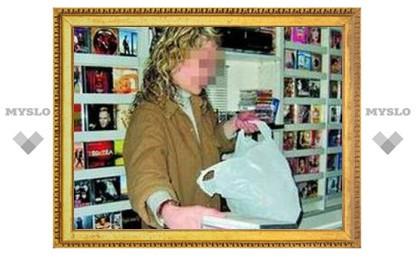 Под Тулой продавали пиратские диски