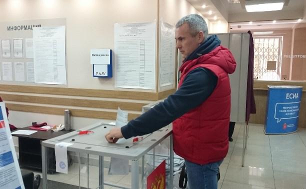 Алёшин: «Выборы проходят спокойно и в соответствии с законом»