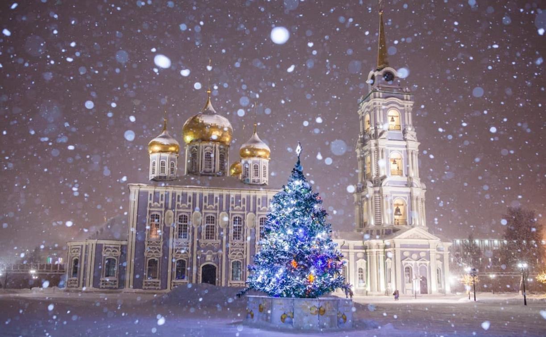 Выходные в Тульской области будут облачными и снежными