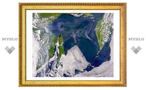 В Охотском море ищут тонущее судно