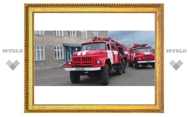 В Туле сгорел автолайн