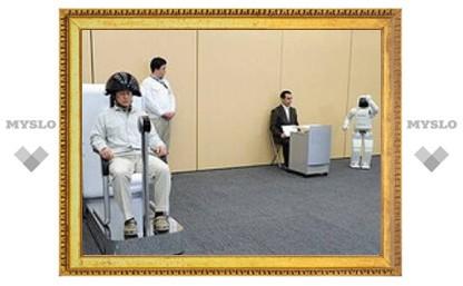 Человекоподобного робота научили читать мысли