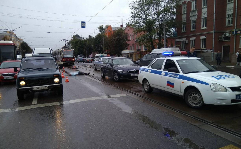 На улице Октябрьской в Туле сбили подростка