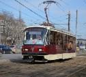 В Туле на улице Руднева вновь ограничили движение трамваев