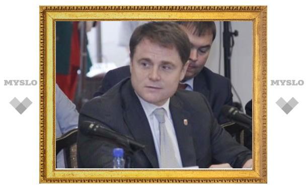 Владимир Груздев поздравил начальника областной полиции с новой должностью