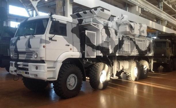 Тульский «Панцирь» используют в военных учениях на юге России