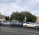 На проспекте Ленина в Туле столкнулись пять машин