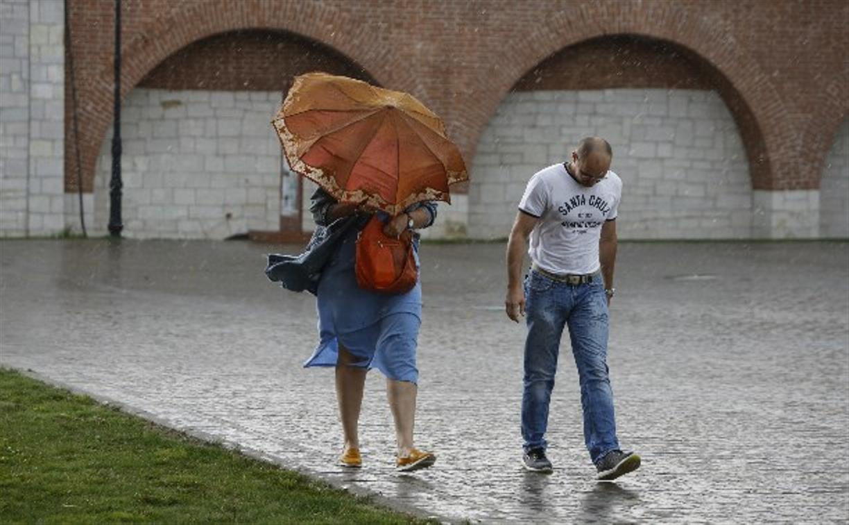 На Центральную Россию обрушатся похолодание, ливни и грозы