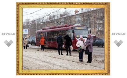 Общественный транспорт в Туле будет ходить по единому расписанию