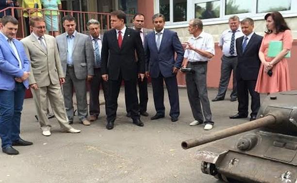 Тульский конструктор-самоучка восстановит танк Т-34