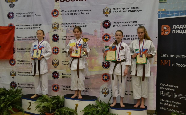 Тульские каратисты привезли с соревнований 15 медалей