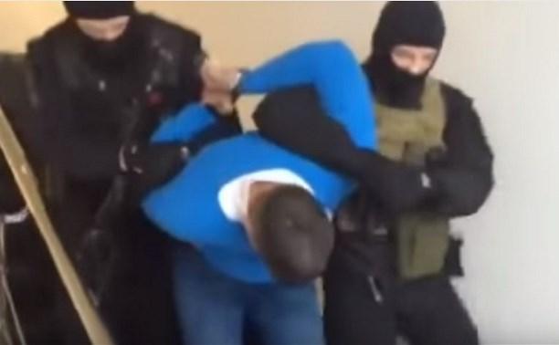Видео задержания заказчика убийства Антона Белобрагина