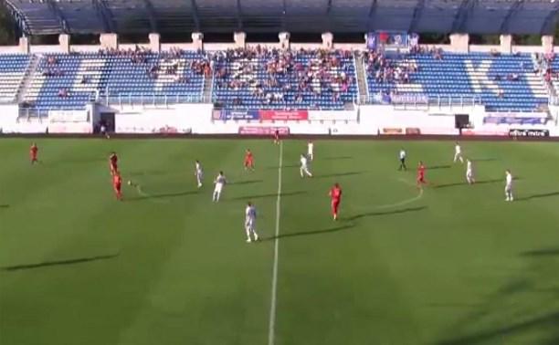 «Арсенал-2» сыграл вничью с брянским «Динамо»