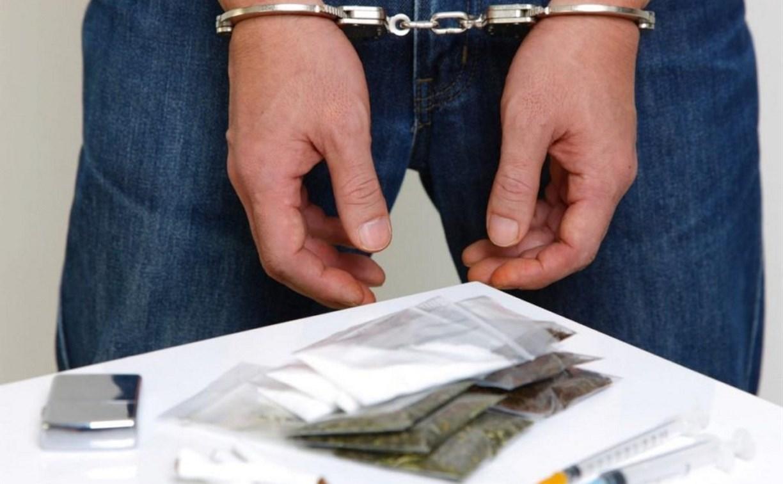 В Щекинском районе задержан сбытчик наркотиков
