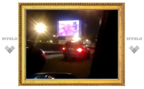 Порноролик на Садовом кольце запустили из Грозного