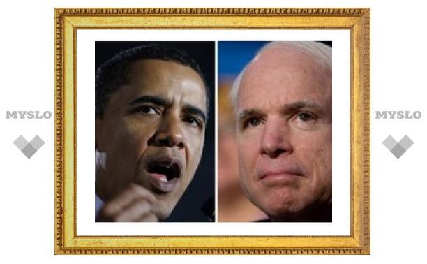 По данным опроса, Обама опережает Маккейна на 12%