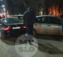 На пр. Ленина водитель BMW протаранил три авто
