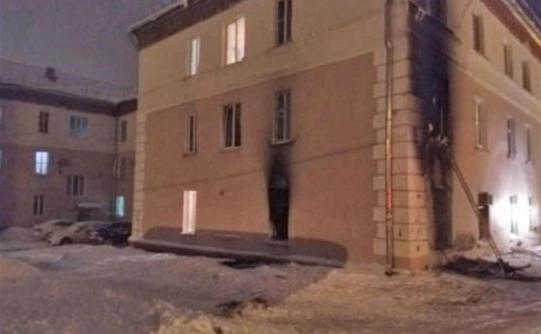 По факту пожара с тремя погибшими в Новомосковске возбуждено уголовное дело