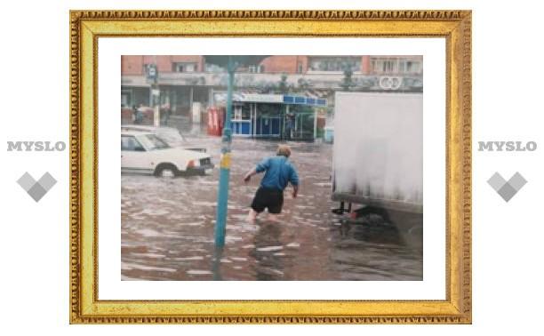 Ливневая канализация в Туле не работает