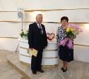 В Туле чета Поповых отметила 55-летие семейной жизни