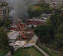 Пожар в тульском «Ташире»: фоторепортаж, видео, подробности