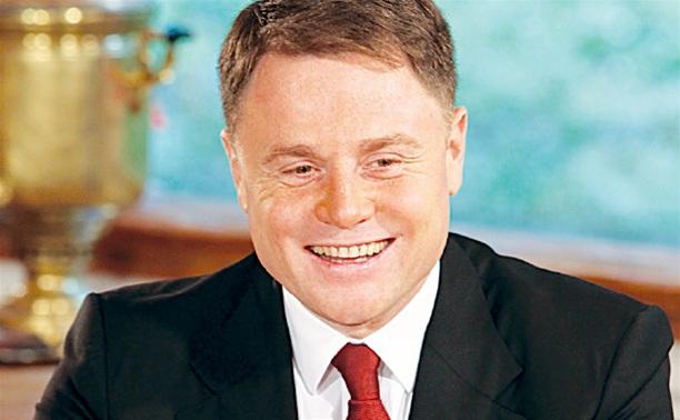 Губернатор Тульской области Владимир Груздев празднует день рождения
