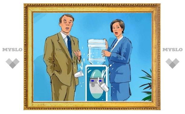 Минфин предложил облагать налогом питьевую воду в офисах