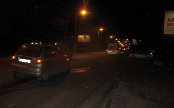 В Туле автомобиль «Дэу» столкнулся с «семеркой»