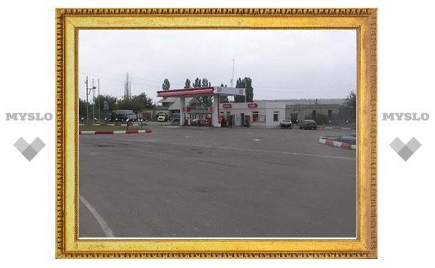 В Туле владелец заправки мешает строительству дороги