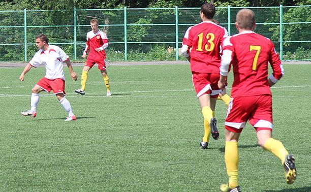 На Кубок Тульской области по футболу претендуют четыре команды