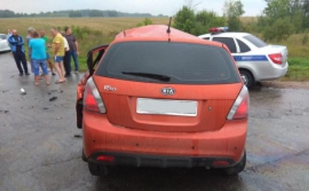 В ДТП с маршруткой Тула-Липецк погиб один и 11 человек пострадали