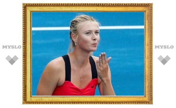 Шарапова вышла в 1/4 финала турнира в Мадриде без борьбы