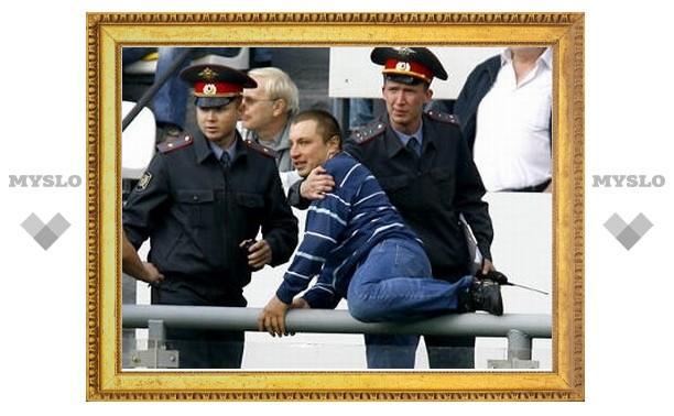 Болельщику-пенальтисту грозит арест на 15 суток