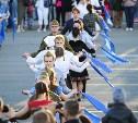 В Туле прошла патриотическая акция «Синий платочек Победы»