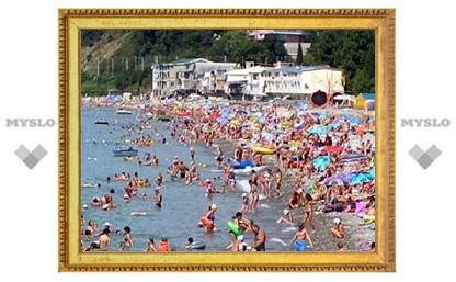 Тульские милиционеры будут охранять пляжи и курорты